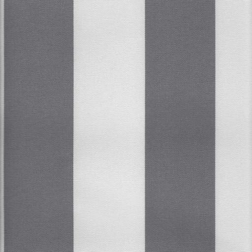 Markisväv blockrand grå