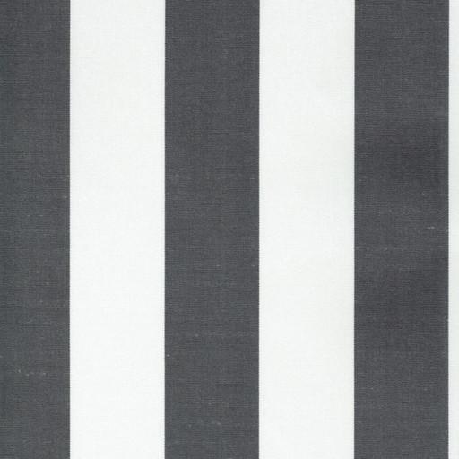Markisväv blockrand mörkgrå