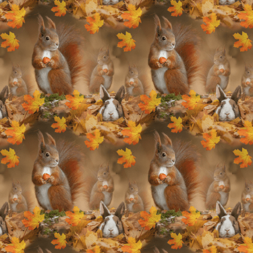 Kanin och ekorre